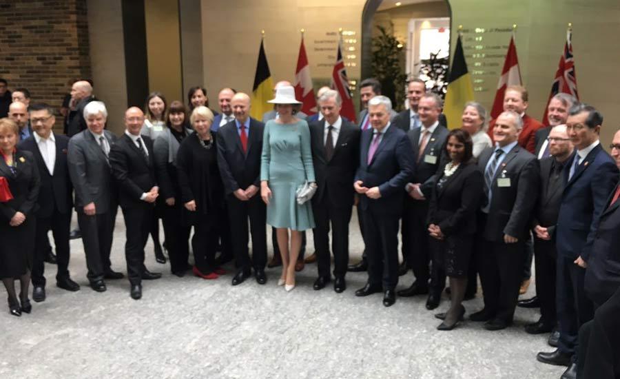 دیدار پادشاه و ملکه بلژیک از کانادا