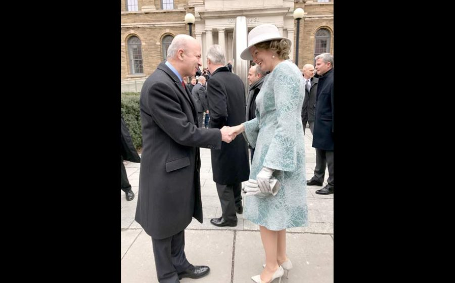 Reza-Moridi–Queen-Mathilde-of-Belgium