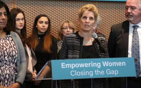 طرح پیشنهادی دولت انتاریو برای کاهش تفاوت های پرداختی بین زنان و مردان