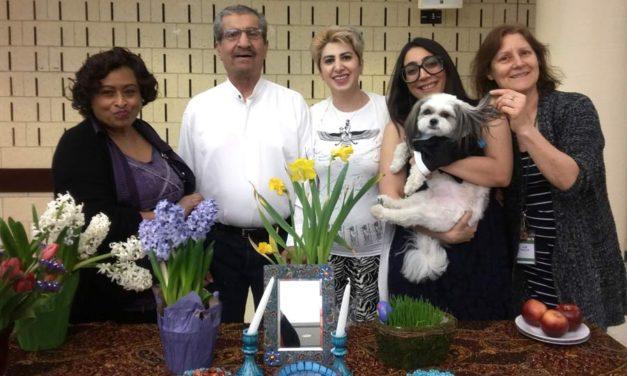 بهاران خجسته باد!/دید و بازدید نوروزی با سالمندان ایرانی در خانه سالمندان/سارا شعرخوانی