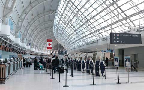فرودگاه پیرسون، بهترین فرودگاه بزرگ در آمریکای شمالی