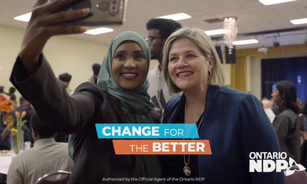 وعده های انتخاباتی رهبر حزب NDP انتاریو