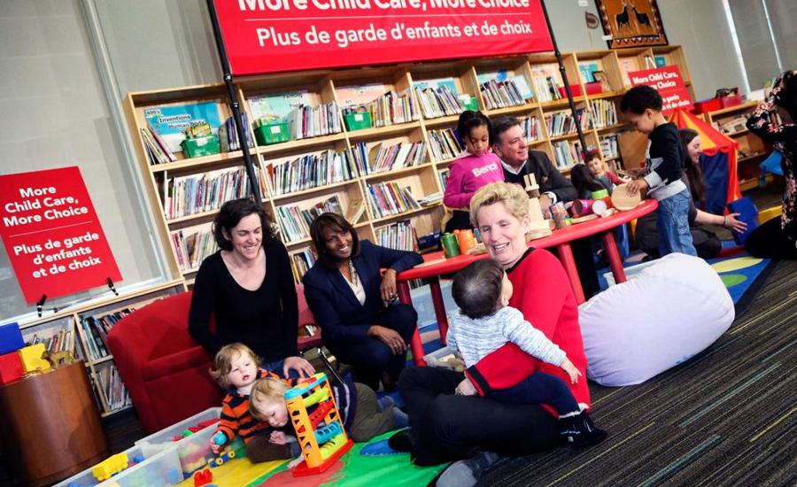 ۳۱۰۰ مهدکودک جدید برای خانواده ها در انتاریو