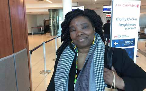 پیاده کردن مسافر از پرواز ایر کانادا به دلیل بیماری پوستی