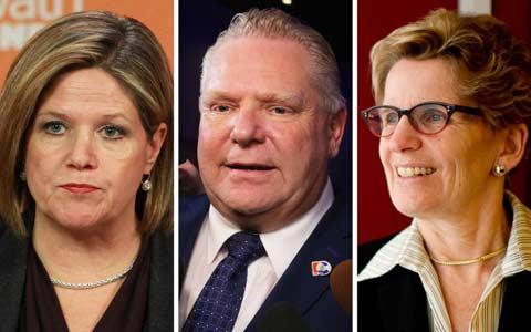 رقابت تنگاتنگ احزاب لیبرال و محافظه کار انتاریو برای انتخابات ماه ژوئن