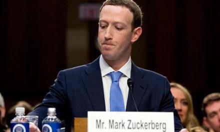 مارک زاکربرگ، بنیانگذار فیسبوک، در کنگره ی آمریکا از جهان عذرخواهی کرد