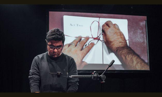 نسیم سلیمانپور، نمایشنامه نویس ایرانی، در جشنواره ی لومیناتو
