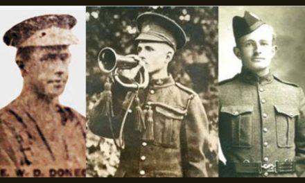 شناسایی سه سرباز کانادایی ۱۰۰ سال بعد از مرگشان