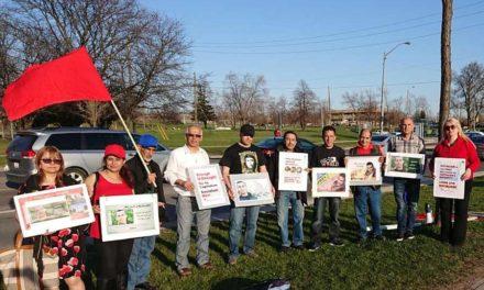 گزارش تظاهرات اول ماه مه در تورنتو/بابک یزدی