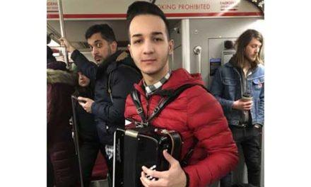 آکاردئون نواز تورنتو دستگیر شد