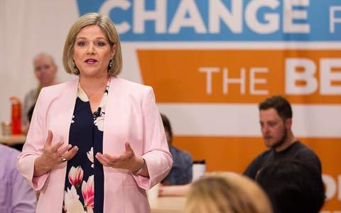 حزب نیودمکرات بیشترین کاندیداهای زن را دارد