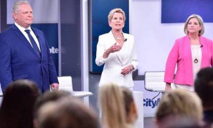 اولین مناظره ی انتخاباتی احزاب انتاریو