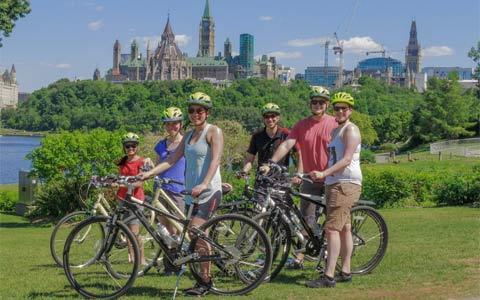 علاقه مندان به دوچرخه سواری به اتاوا بروند