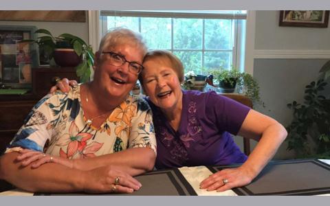 دیدار دوستان مکاتبه ای بعد از ۵۶ سال