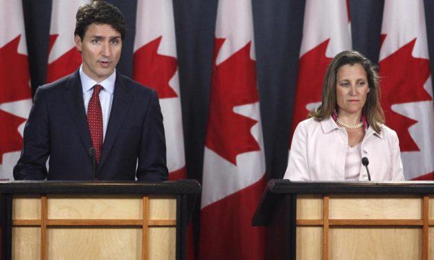 جدال تجاری کانادا و آمریکا در پی اعمال تعرفه ی مالیاتی بر آلومینیوم و فولاد