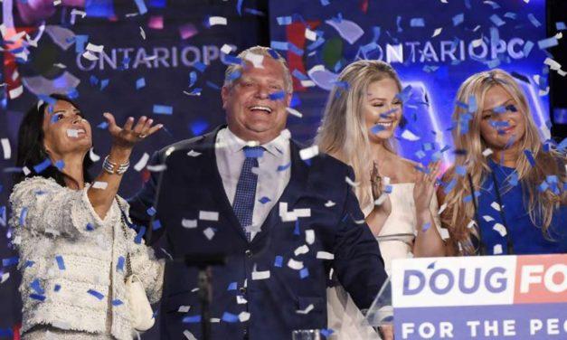 داگ فورد نخست وزیر جدید انتاریو