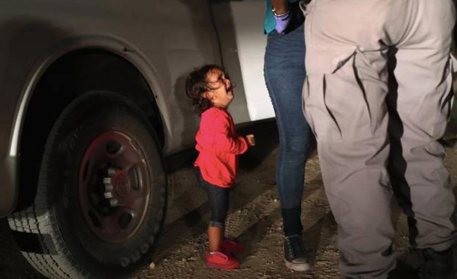 بحران پناهجویان مکزیکی در مرز آمریکا