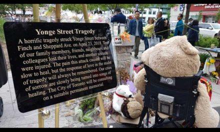 مراسم چهلم کشته شدگان واقعه مرگبار تصادف در نورت یورک تورنتو