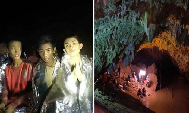 هر ۱۳ نفر گرفتار در غاری در تایلند نجات پیدا کردند