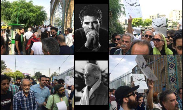 یورش، بازداشت و ممنوعیت در مراسم هجدهمین سالگرد احمد شاملو