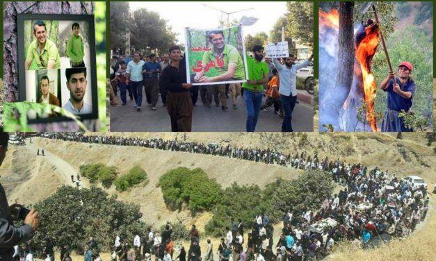 مرگ مشکوک چهار فعال محیط زیست خشم مردم را برانگیخت