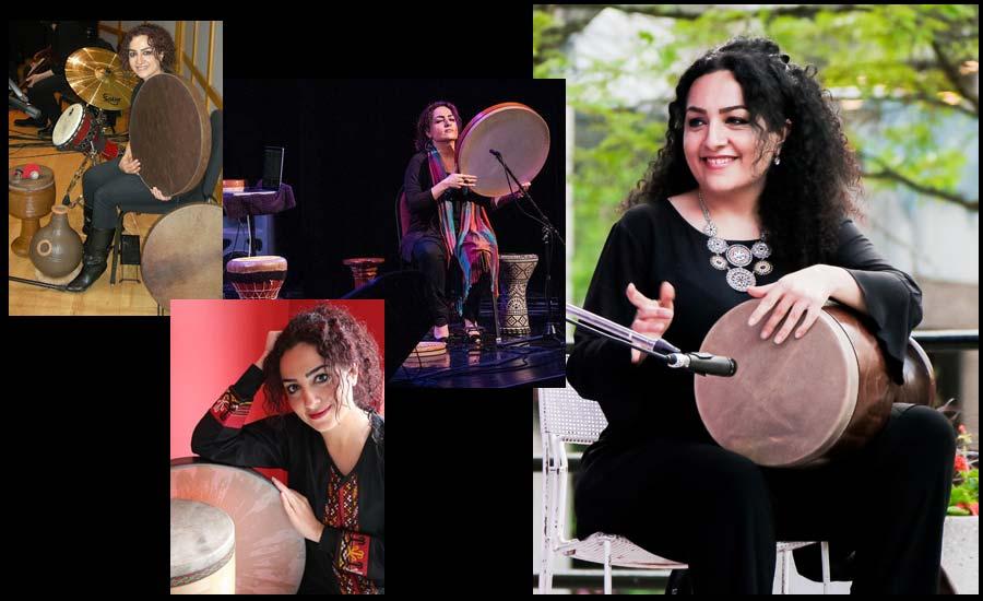 گفت وگو با نغمه فرهمند، هنرمند نوازنده تنبک و سازهای کوبه ای/فرح طاهری