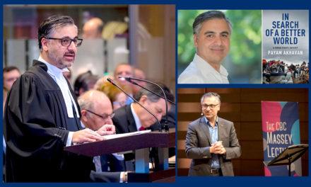 ایرانیان جهان و دستاوردهایشان ـ۴۰/آشنایی باپیام اخوان، حقوقدان و فعال حقوق بشر