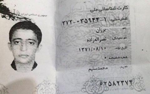 آخرین وضعیت برزان نصرالله زاده، نوجوان محکوم به اعدام