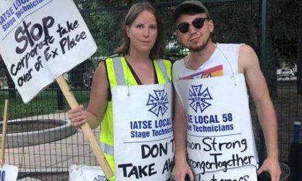اعتصاب کارمندان نمایشگاه ملی کانادا ضرر مالی فراوانی بهمراه خواهد داشت