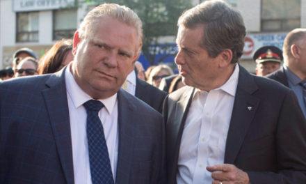 شهرداری تورنتو از دولت انتاریو به دادگاه شکایت می کند