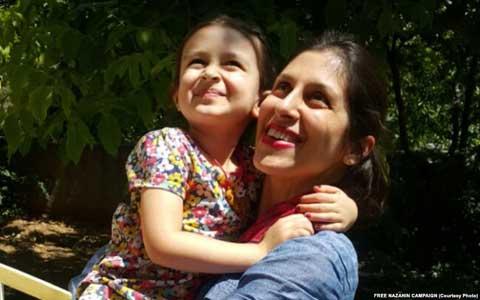 نازنین زاغری به درمانگاه زندان اوین منتقل شد