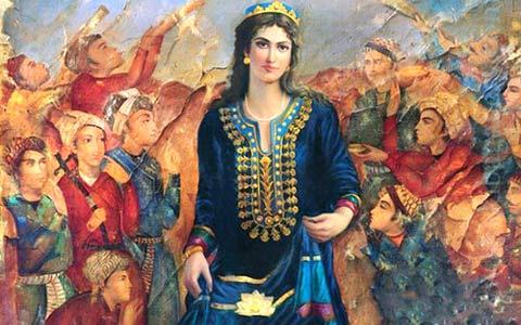سیمای حماسی زن ایرانی در شاهنامه ی فردوسی/ دکتر علی نیک جو