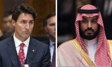 رابطه ی تجاری و سیاسی کانادا و عربستان سعودی متوقف می شود