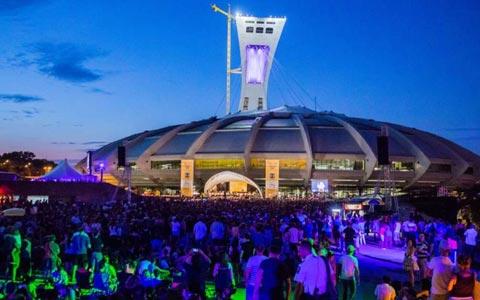 هزاران مونترالی برای شنیدن کنسرت ارکستر سمفونیک در استادیوم المپیک حضور یافتند
