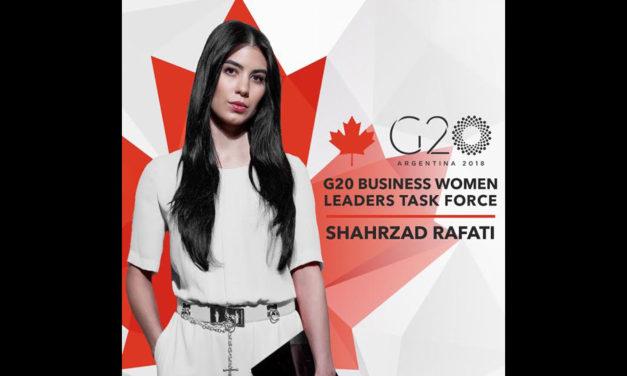 شهرزاد رفعتی، نماینده کانادا در گروه کاری کشورهای گروه ۲۰