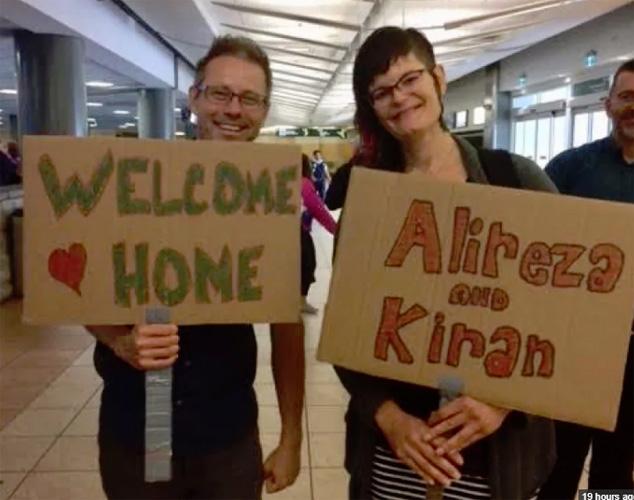 زوج همجنسگرای ایرانی ـ هندی بالاخره به کانادا رسیدند