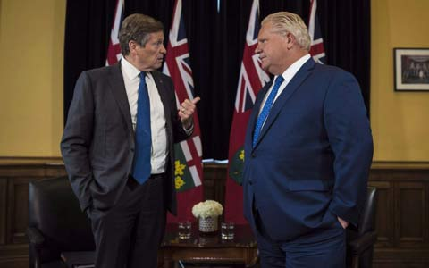 رای دادگاه به نفع شهرداری تورنتو و واکنش داگ فورد