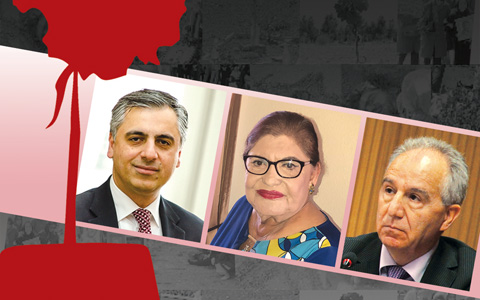مراسم همبستگی با زندانیان سیاسی و به رسمیت شناختن کشتار تابستان ۶۷/با حضور پرویز دستمالچی، هما احسان و پیام اخوان
