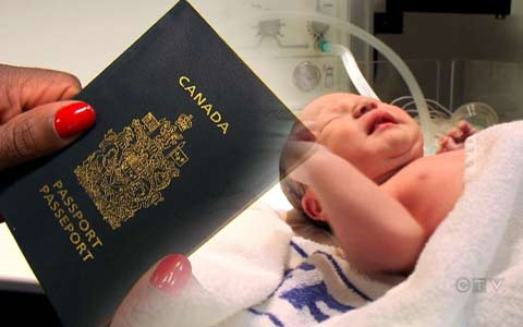 تولد در کانادا به دست آوردن شهروندی را تضمین نمی کند