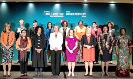برگزاری نخستین همایش تاریخی وزاری امور خارجه زن در مونترال