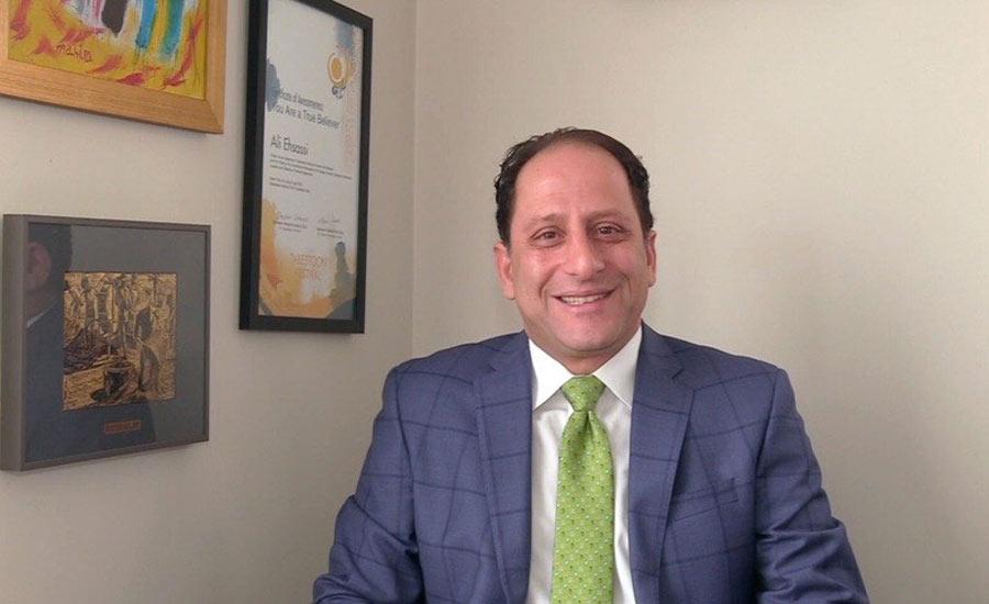 علی احساسی نماینده مجلس فدرال از نقش پرگاری دکتر رضا مریدی در جامعه ایرانی کانادا می گوید/نسیم دانشور