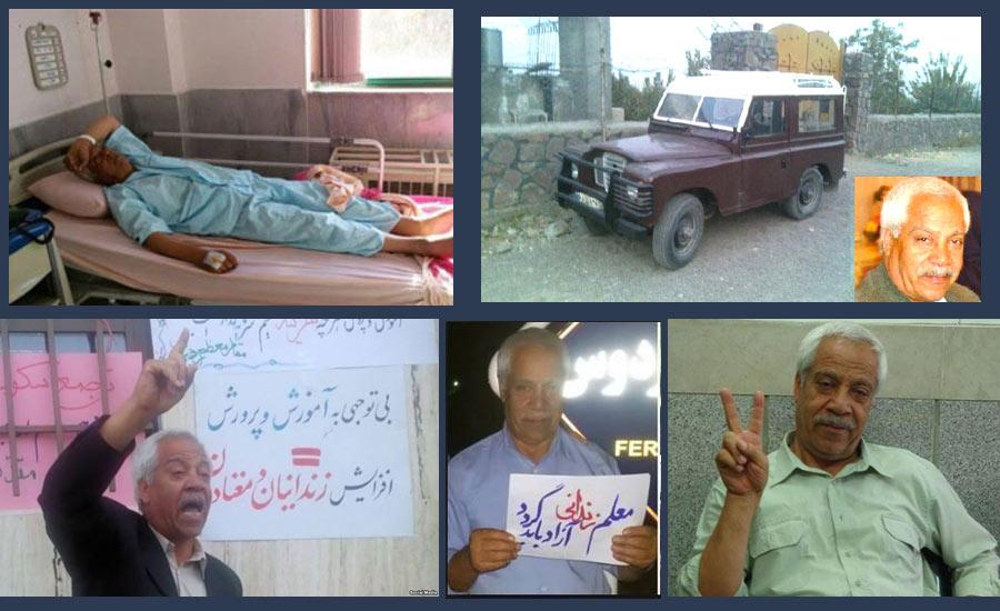 همسر هاشم خواستار: اطلاعات سپاه همسرم را ربوده و او را در بیمارستان روانپزشکی بستری کرده