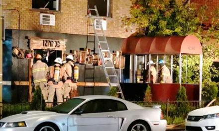یک رستوران ایرانی در مونترال در آتش سوزی مشکوکی سوخت