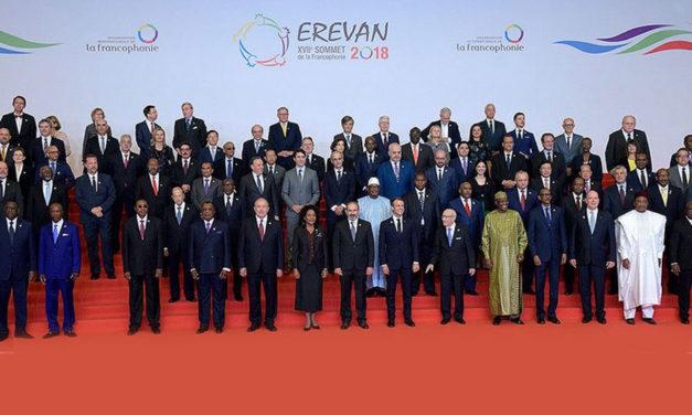 نشست سران کشورهای فرانسه زبان در ارمنستان: پایان ریاست میکل ژان