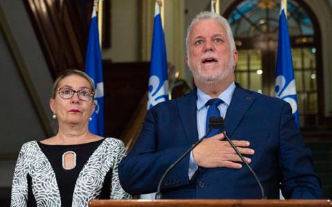 فیلیپ کویار از رهبری حزب لیبرال کبک و سیاست کناره گیری کرد