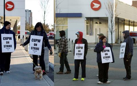 اعتصاب کانادا پست شروع شد