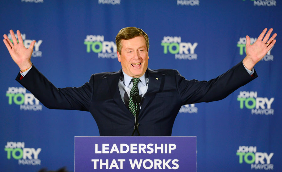 نتایج انتخابات شهرداری های تورنتوی بزرگ