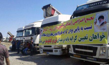 اعتصاب کامیونداران ادامه دارد؛ ۲۵۶ راننده بازداشت شدهاند