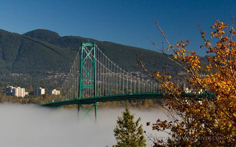 پل «لاینز گیت» ونکوور ۸۰ ساله شد