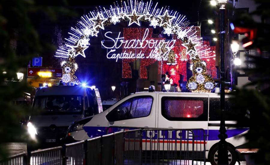 حداقل ۳ کشته و ۱۳ زخمی در تیراندازی بازار کریسمس در فرانسه